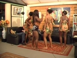young black african girls show cunt