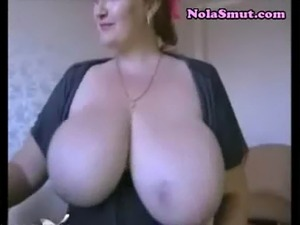 Amateur saggy tits
