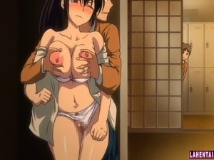 anime handjob video