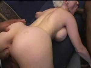 mmf bi sex strap on anal
