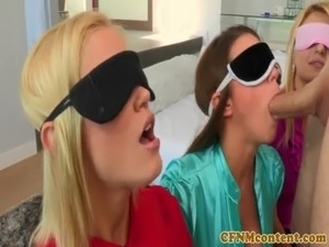 wife blindfold sex