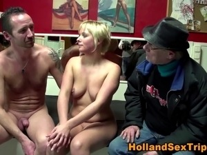 dutch young girl tease