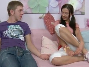 teen girl cream pie