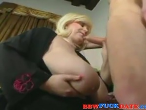 mature woman seduces young