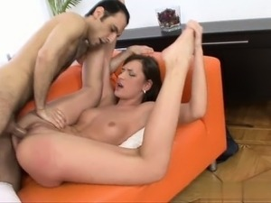 wife gives blowjob in parking garage