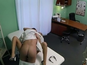 blonde lesbians playing doctor