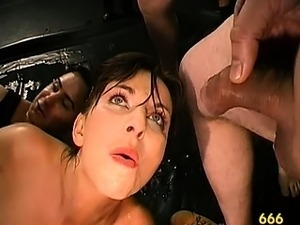 free mature hairy milf bukkake videos