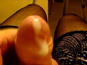 pantyhose nylon high heel anal sex
