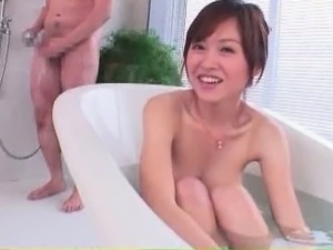 Wife masturbating in shower