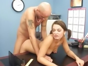 brunette girl fucked videos