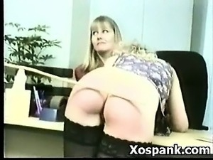 black ebony spanking