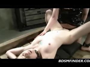 femdom tease handjob video