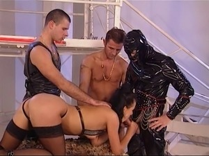 Latex sex video