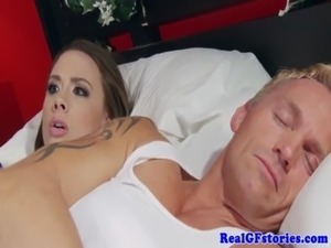 cheating wife blowjob