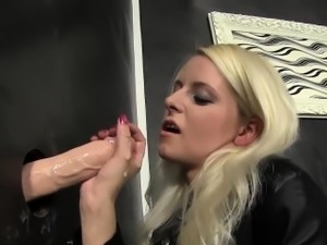 forced sex glory hole video