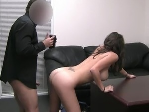 Nude girls in office