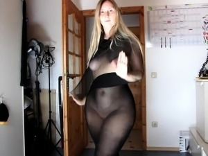 mature moms in nylons video