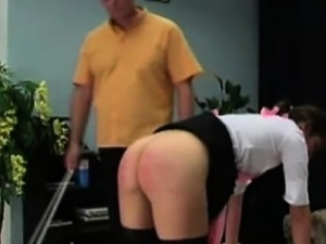 free spanking during anal video