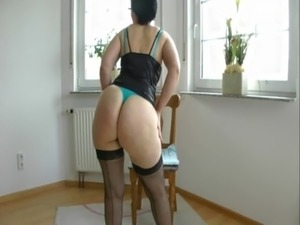 youn girls in black stockings