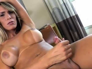 ladyboy orgasm videos