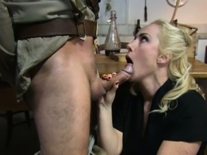 Naked army girl