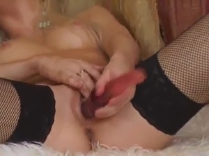 mature handjobs stockings