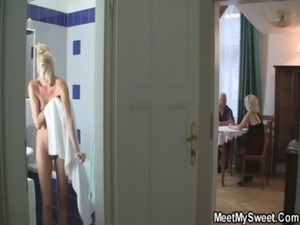 cheating wife cum swallow video
