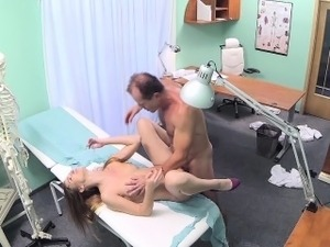 Sexy nurse boobs