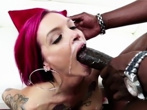 Redhead and slutty Anna Bell Peaks gets destroyed by Lex