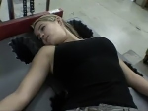 Sex sleeping girl