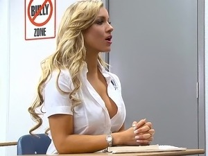 Hot teacher has sex with student