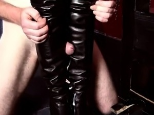 free porn leather coat movies