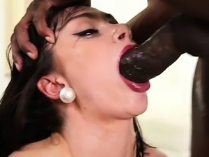 asian girls gagging on big cocks