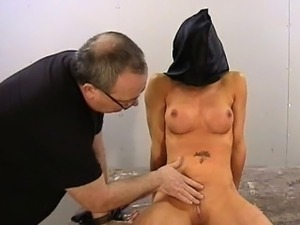 Amateur bdsm of busty Danii Black