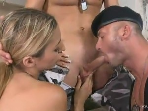 army girl does anal