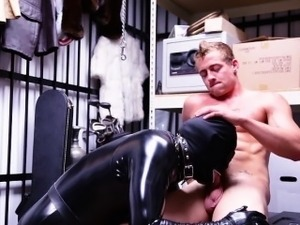 sex black leather clothes