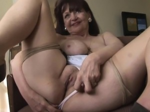 bored mature on webcam