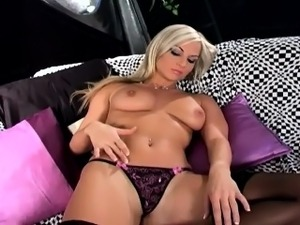stocking fuck video