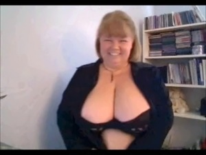 a revealing mature on webcam