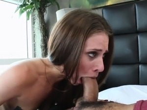 Sexy hot chick Anya Olsen loves to fuck a hard cock