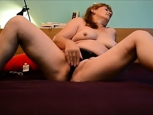 Mature wife masturbating and squirting