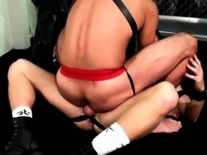 leather sexy babes video
