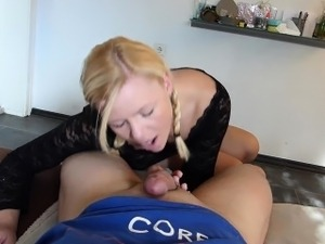 naughty-hotties.net -  anal quickie after cum ban - cum on a