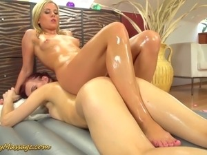 Lesbian breast massage videos