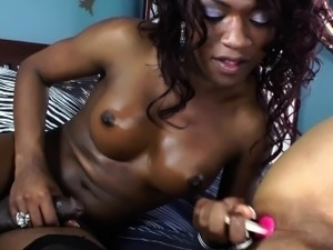 ladyboy fucks girl video