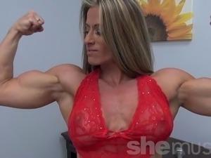 ebony muscular women porn