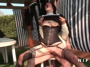 young nun sex