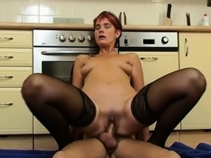 lesbian kitchen anal insertions