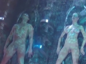 horror movie alien womens breasts