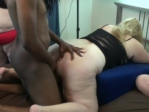 big tits big ass interracial anal